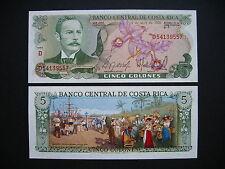 Costa Rica 5 colones 2.4.1986 (p236d) UNC