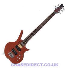 Shine SB-205 N Five 5 String Electric Bass Guitar Natural Finish Active
