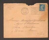 BOURGES (18) PENSIONNAT DE LA SALLE / ECOLE en 1922