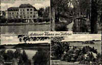 Fissau AK 1961 Holsteinische Schweiz Mehrbildkarte Seeschloss Schloss Kellersee