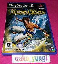 PRINCE OF PERSIA LES SABLES DU TEMPS PS2 PLAYSTATION 2 TRES BON ETAT FRANCAISE