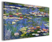 Quadro moderno Claude Monet vol XXI stampa su tela canvas pittori famosi