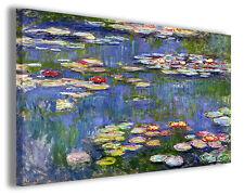 Quadro moderno Claude Monet vol XXI stampa su tela canvas pittori famosi