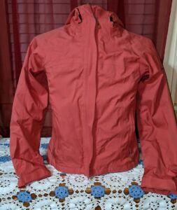 Columbia Titanium Women's Size XS Omni Tech Shell Rose Pink Hooded Rain Jacket