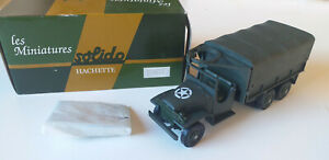 MINIATURE SOLIDO BY HACHETTE CAMION GMC N° 32
