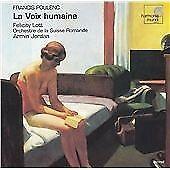 POULENC: LA VOIX HUMAINE 2001 Harmonia Mundi CD  Felicity Lott