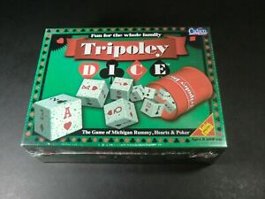 Tripoly Dice - NEW - Cadaco Game 1997