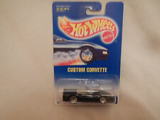 1991 Hot Wheels Custom Corvette #200 White Card Bottom