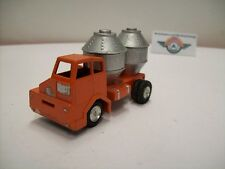 Faun Cement Truck, 1960, orange/silver, Gama (Made in Western Germany) 1:50