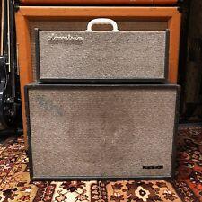 Vintage 1965 JMI Vox Domino Bass Piggyback Valve Amplifier Head & 1x12 Cabinet