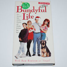 Married With Children Christmas VHS It's A Bundyful Life Pt 1 & 2 Sam Kinison