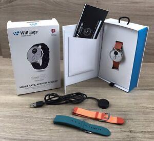 Withings Steel HR Hybrid Smartwatch • Fitnessuhr mit Herzfrequenzmesser • 36mm