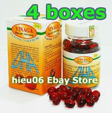 Lot 4 boxes of Gac Oil DHA - Momordica Cochinchinensis Oil -Vinaga 400 capsules