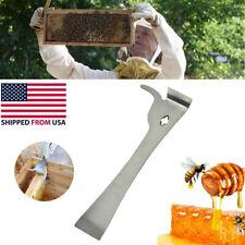 Beekeeper Hive Beekeeping Tools Bee Hook Equip Stainless Steel Scraper