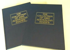 The Collection of 1982 Australian Stamps Original Album + Stamps & Cover