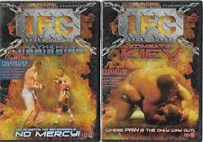 IFC Caged Combat (DVD, 2-Discs) Mayhem in Miss. & Kombat in Kiev!  Brand New!