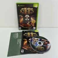 Star Wars: Knights of the Old Republic 2 II The Sith Lords (Xbox, 2004) Complete