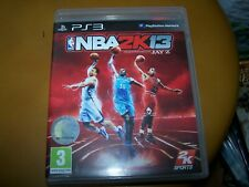 NBA2K13 -    VF PS3 boite CD    livret