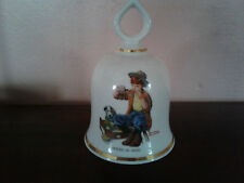 "Norman Rockwell ""Friend In Need� Danbury Mint Bell"