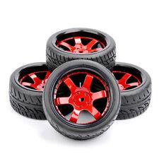 4PCS Drift Tires&52mm Wheel Rims D6NKR For HSP HPI RC 1/10 On-Road Racing Car