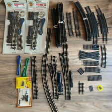 HUGE LOT of Brass HO Scale Tracks, Remote Control Switches PLUS extras