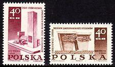 Poland - 1967 Monuments WW II - Mi. 1818-19 MNH