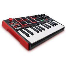 MPK Mini MKII 25-Key Ultra-Portable USB MIDI Drum Pad & Keyboard Controller W/