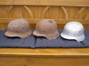 Dachbodenfund 3 Stahlhelme Wehrmacht Stahlhelm 2.Weltkrieg