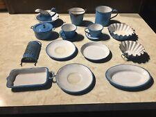 Vintage Miniature Agate Kitchen Items