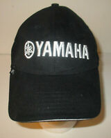 Yamaha Cool Caps Strapback Hat Cap Black and White OSFM Adjustable
