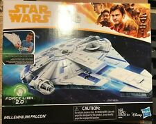 Force Link 2.0 Solo Millennium Falcon with Han Solo Figure Brand New! Escape Pod