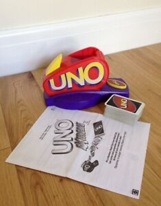 UNO Extreme Card Game With Electronic Launcher 2003