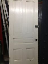 "Victorian Front Door With Original Hardware 83""x34""wood"