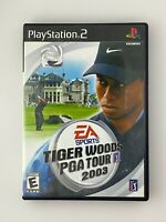 Tiger Woods PGA Tour 2003 - Playstation 2 PS2 Game - Complete & Tested