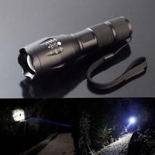 8000LM Militär Taktisch LED Taschenlampe Flashlight Fokus Zoom Superhell 5 Modi