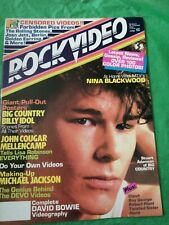 Vintage Rock Video Magazine 1984
