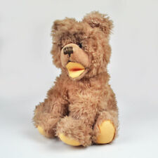 Alter Teddy - Teddybär - Vintage - sitzend - Kopf beweglich