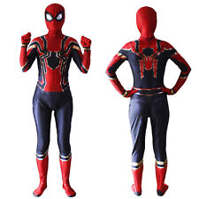 Spiderman Kids Boys Mens Superhero Party Cosplay Costume Fancy Dress Bodysuits