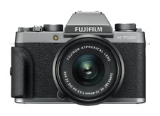 Fujifilm X-T100 24.2 MP Digital Camera - Silver (Kit with 15-45mm Lens)