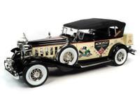 AUTO WORLD AWSS127 Mr Monopoly figure & Cadillac V16 Sports Phaeton car 1:18th