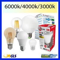 LAMPADINA A LED ATTACCO E27 LAMPADA E14 9 12 15 18 20 24 W CALDA FREDDA NATURALE
