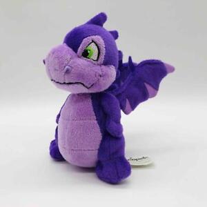 "Neopets 6"" Purple Scorchio Plush Dragon Stuffed Animal Toys R Us No Code"