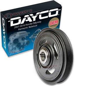 Dayco Engine Harmonic Balancer for 2007-2018 Honda Odyssey 3.5L V6 Cylinder hj