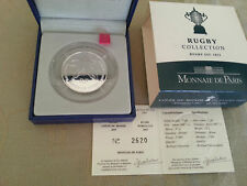 FRANCE  2007 COUPE DU MONDE RUGBY QUART EURO  ARGENT D' EUROPE