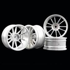 RC Aluminum Wheel 4pc D:52mm W:26mm Fit HSP HPI 1:10 On-Road Drift Car Rim 123S