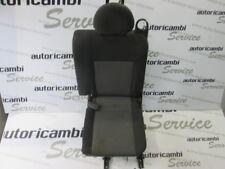 93320640 SEDILE POSTERIORE SINISTRO OPEL MERIVA 1.4 B 5M 5P 66KW (2006) RICAMBIO
