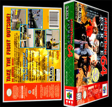 Fighting Force 64  - N64 Reproduction Art Case/Box No Game.