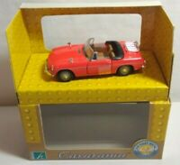 CARARAMA 1:43 SCALE MGB CABRIOLET - RED - #25001 - BOXED