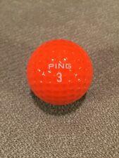 Vintage Ping Eye Karsten Two-Tone Golf Ball (Black/ Orange) Rare!