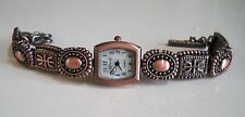 Western look Rose Gold finish dressy/casual wear toggle fashion women's watches